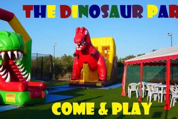 the dinosaur park is open