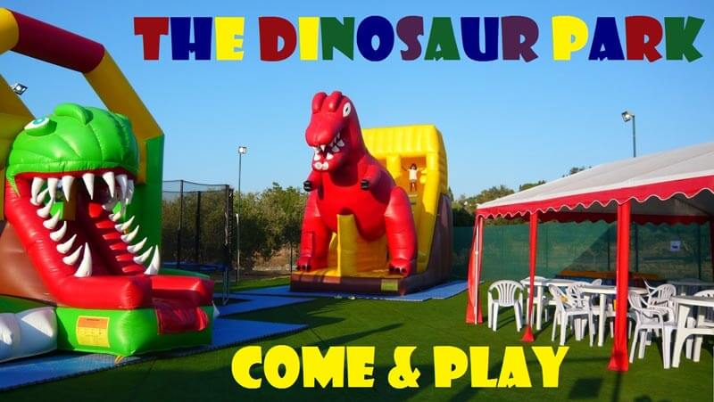The Dinosaur Park is Now Open!