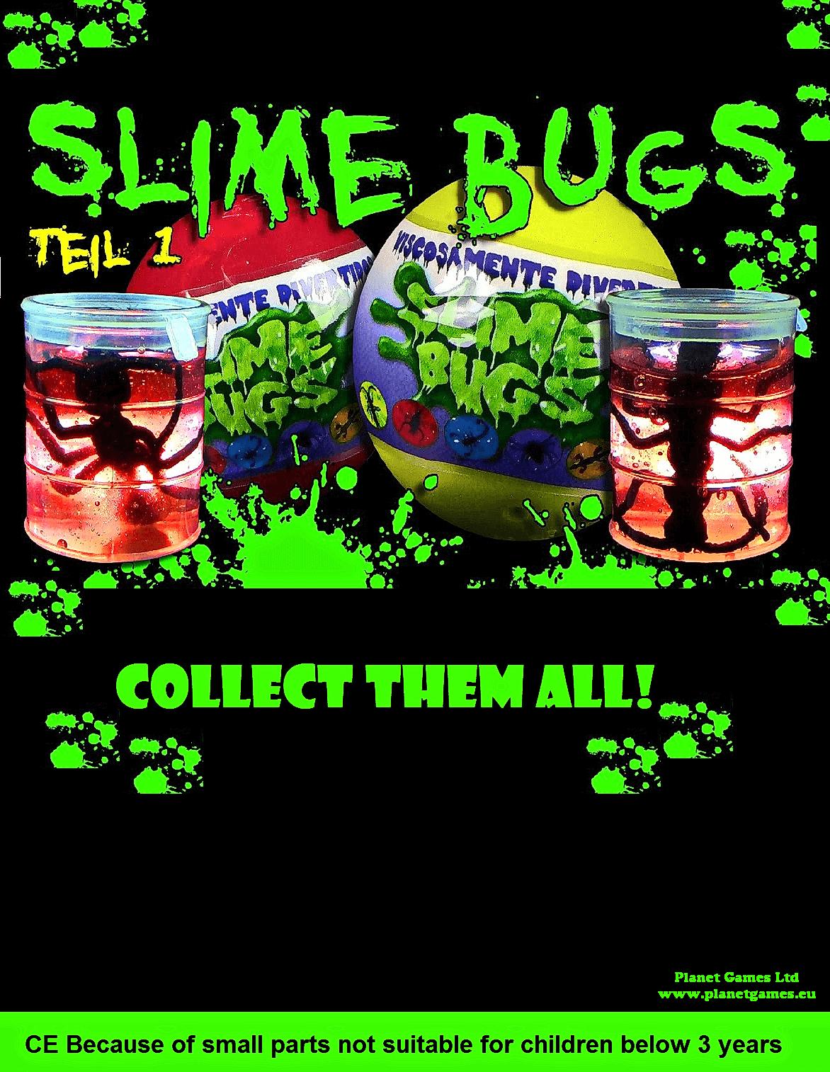 bugs in slime