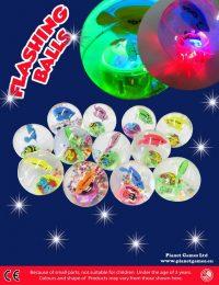 flashing balls