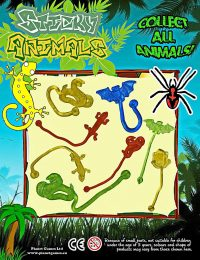sticky animals