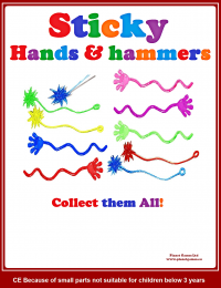 sticky fingers and hammers