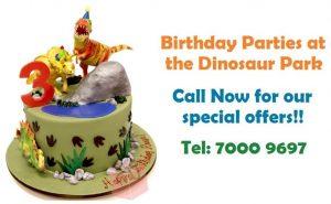 The Dinosaur park – Special prices on birthday prices