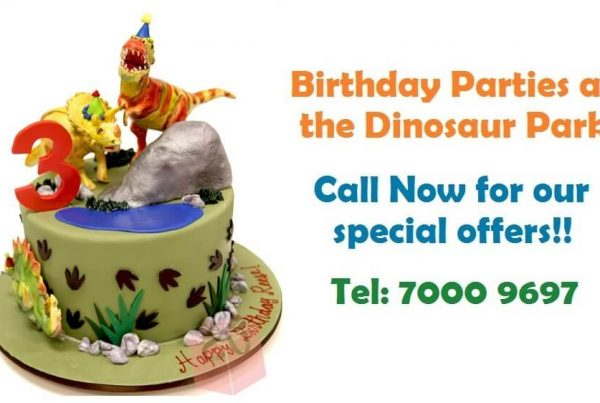 The Dinosaur park – Special prices on birthday prices
