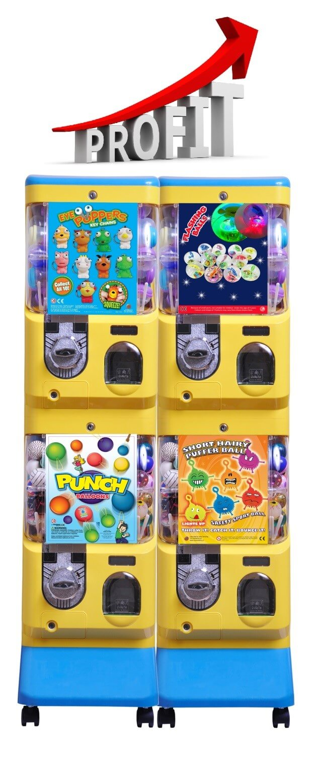The importance of servicing toy vending machines