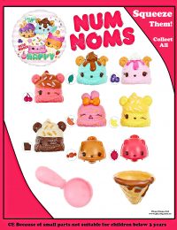 Num noms squishy sweets