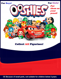 Ooshies pencil toppers
