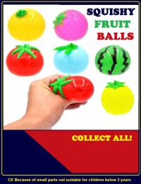 Squishy fruit balls