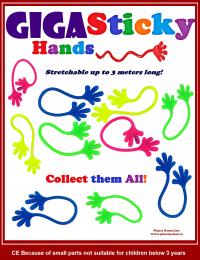 Giga sticky hands