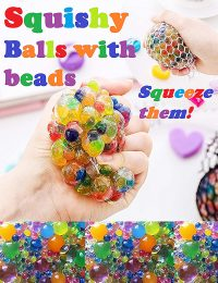 Squishy Balls with beads