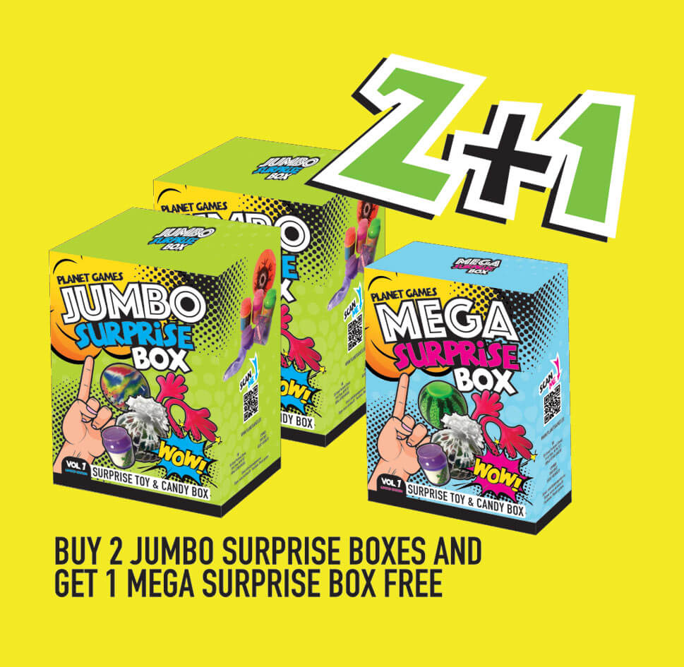 mystery box toys offer
