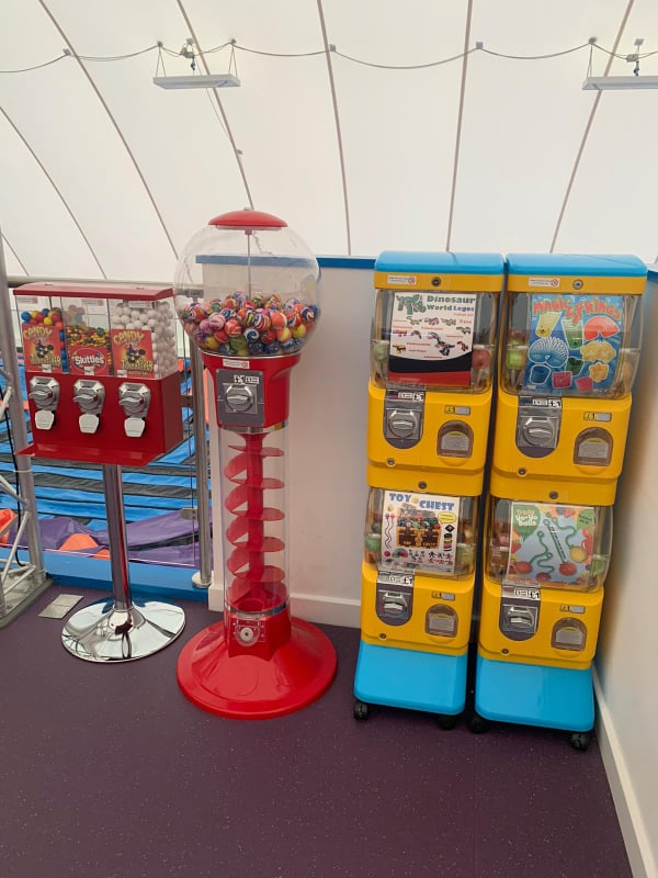 The incredible world of toy vending machines