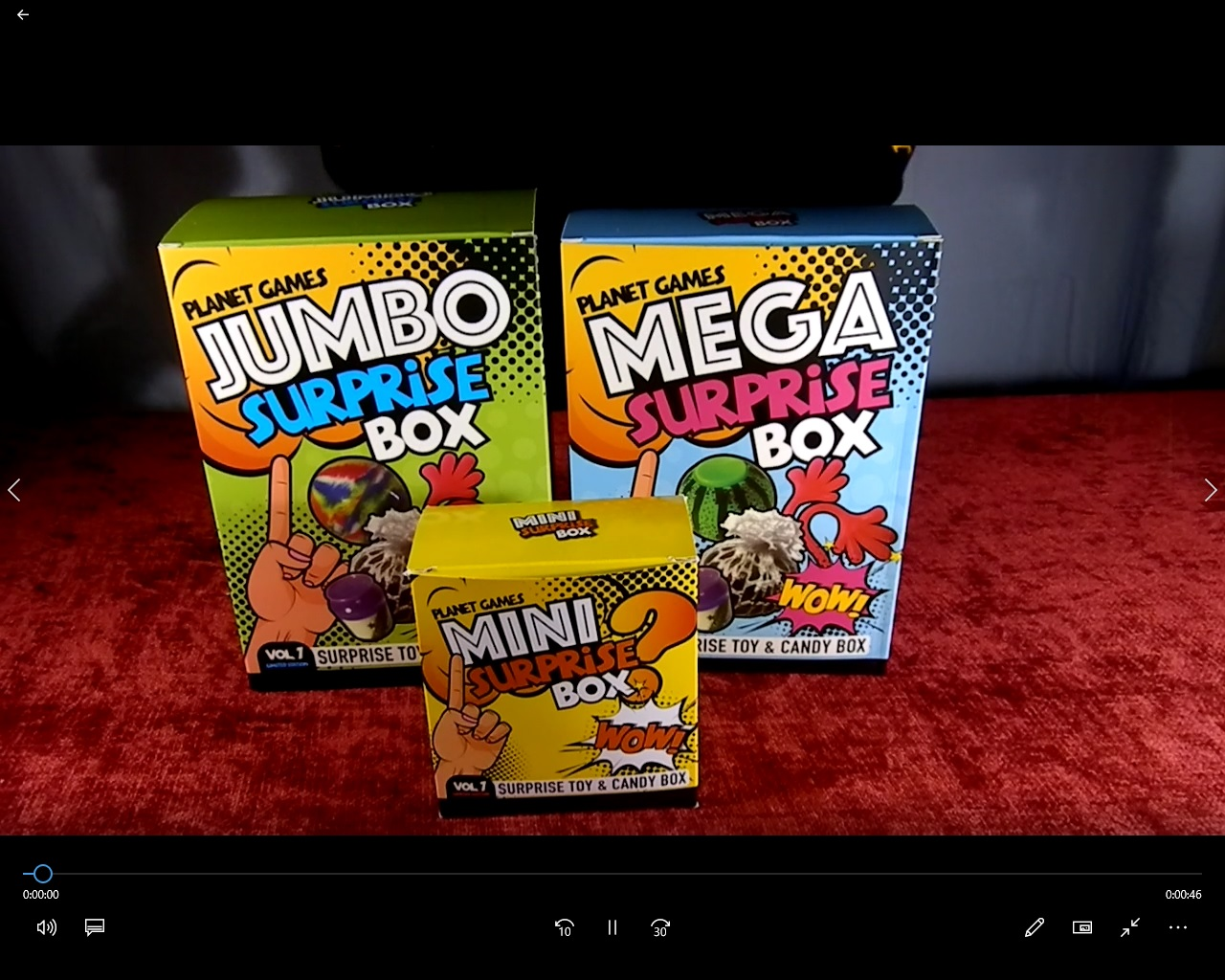 VIDEO: Meet our 3 incredible surprise mystery boxes!