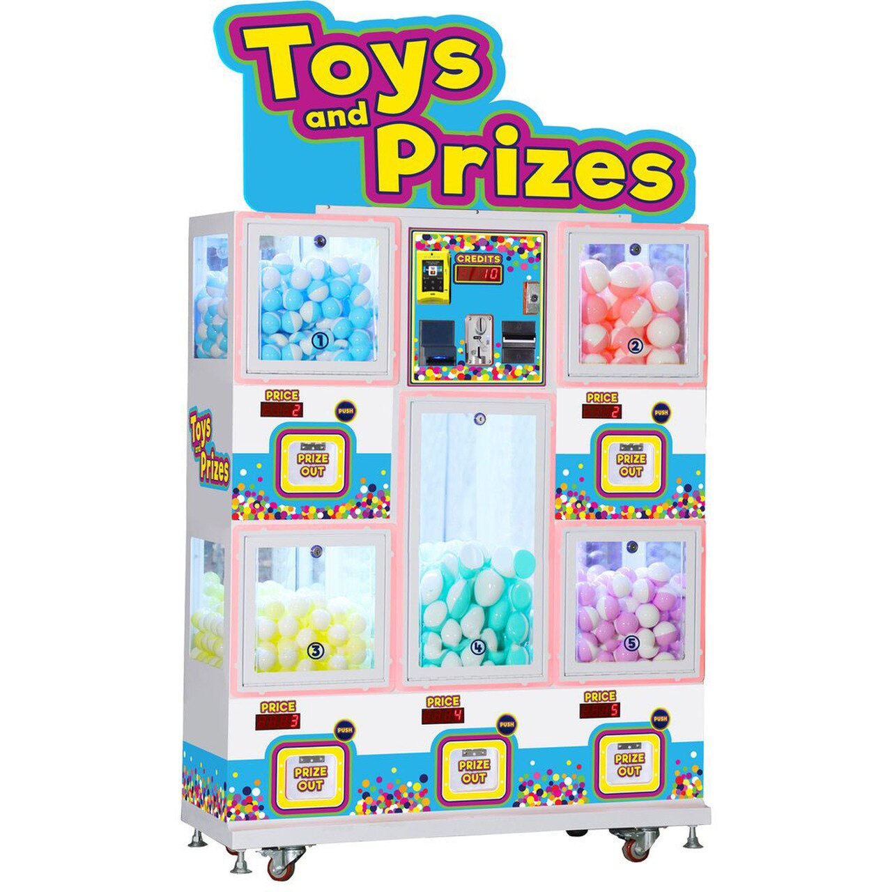 Children's vending machines: Past, present and future